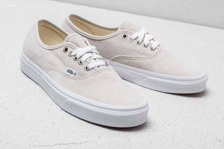 Designer Vans Authentic Decon Premium Leather Grau Sneaker