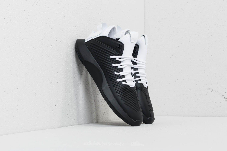 san francisco 2e968 a557c Lyst Adidas Originals Crazy 1 Adv Core Black