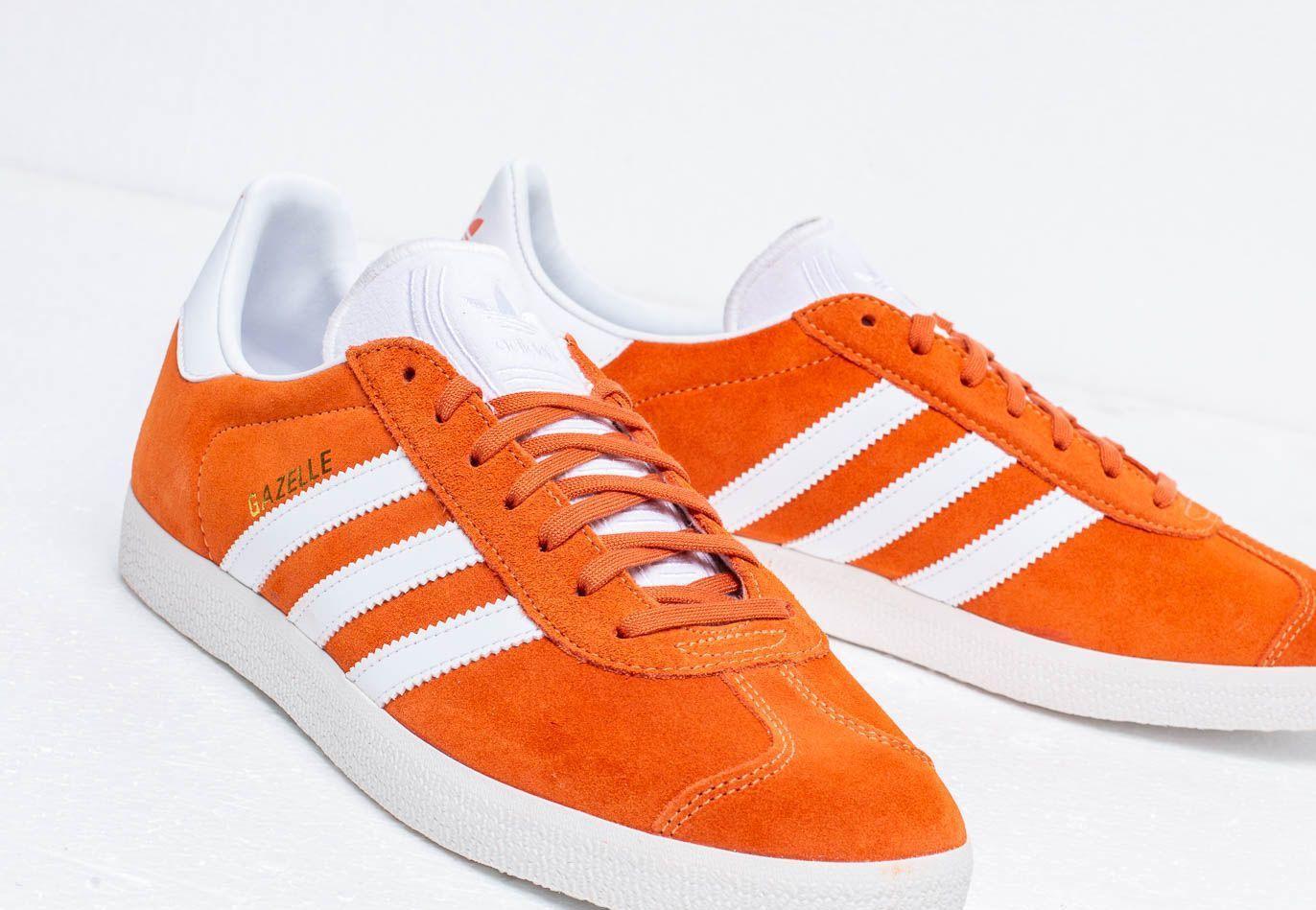 adidas originals gazelle orange