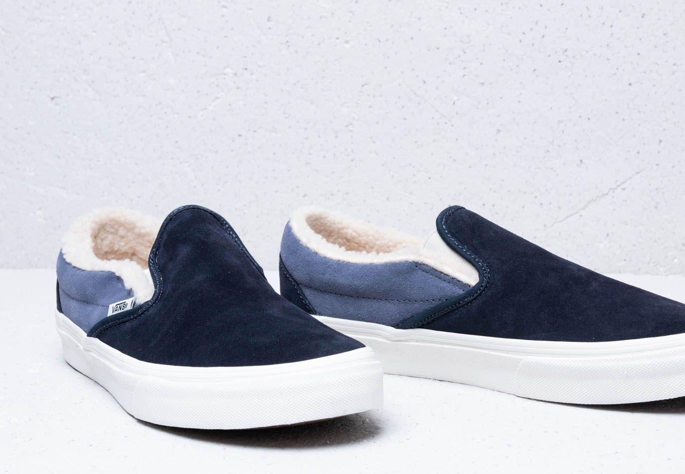 Chaussures En Daim/sherpa Classic Slip-on Toile Vans en coloris ...
