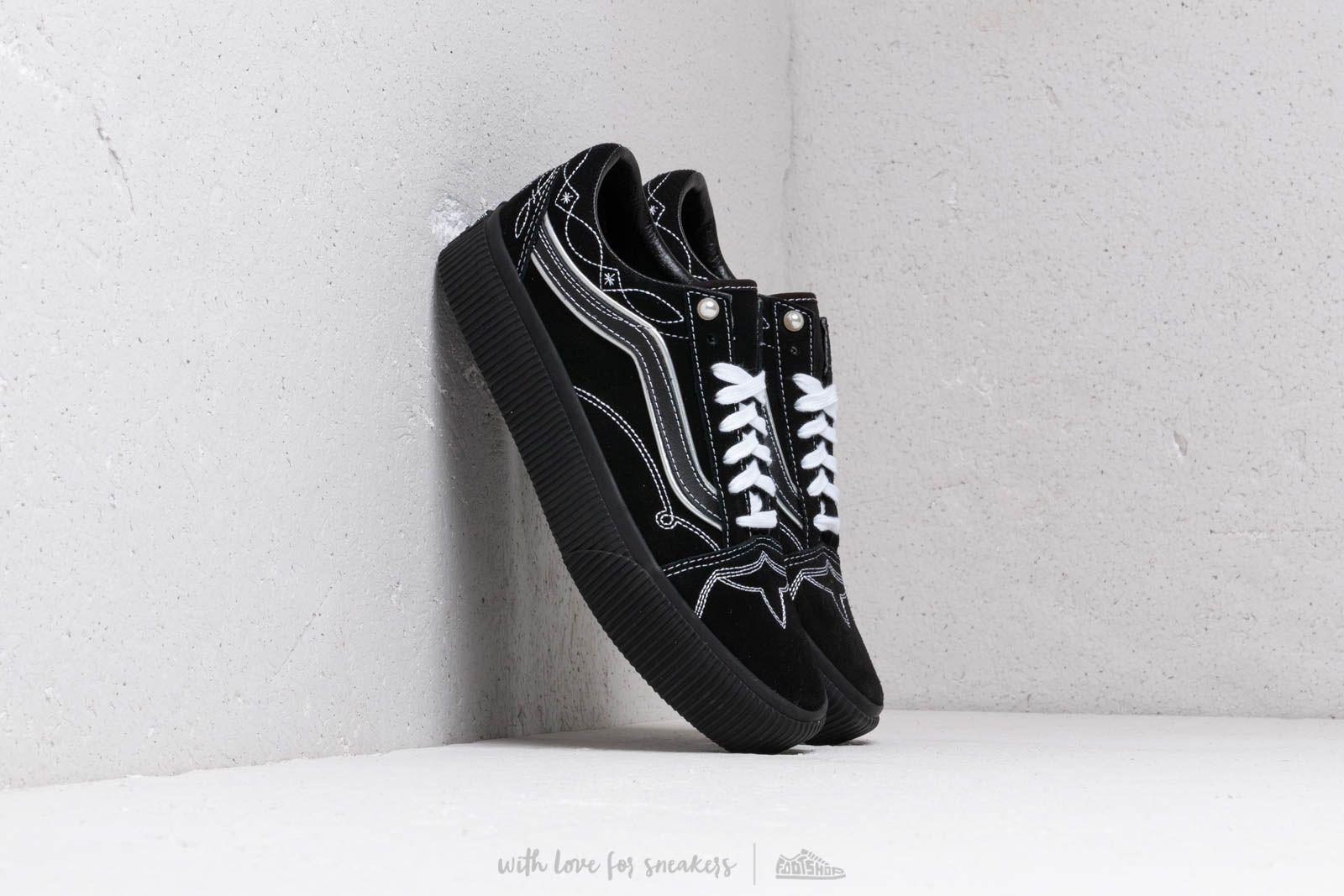 Old Skool Platform (pearly Punk) Black/ Black