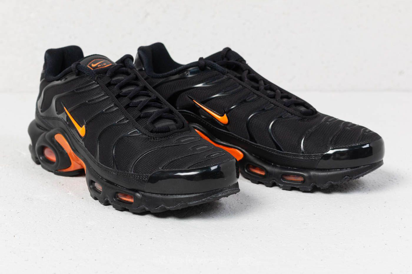 new style 5a061 f11b8 Men's Air Max Plus Tn Se Black/ Total Orange