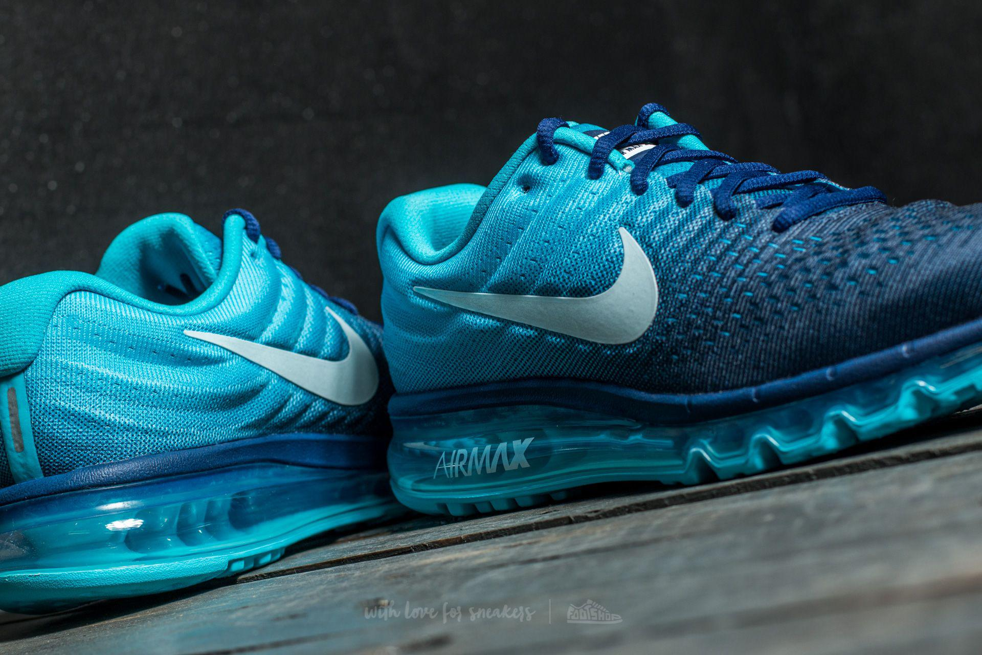 Air Max 2017 Binary Blue/ Glacier Blue