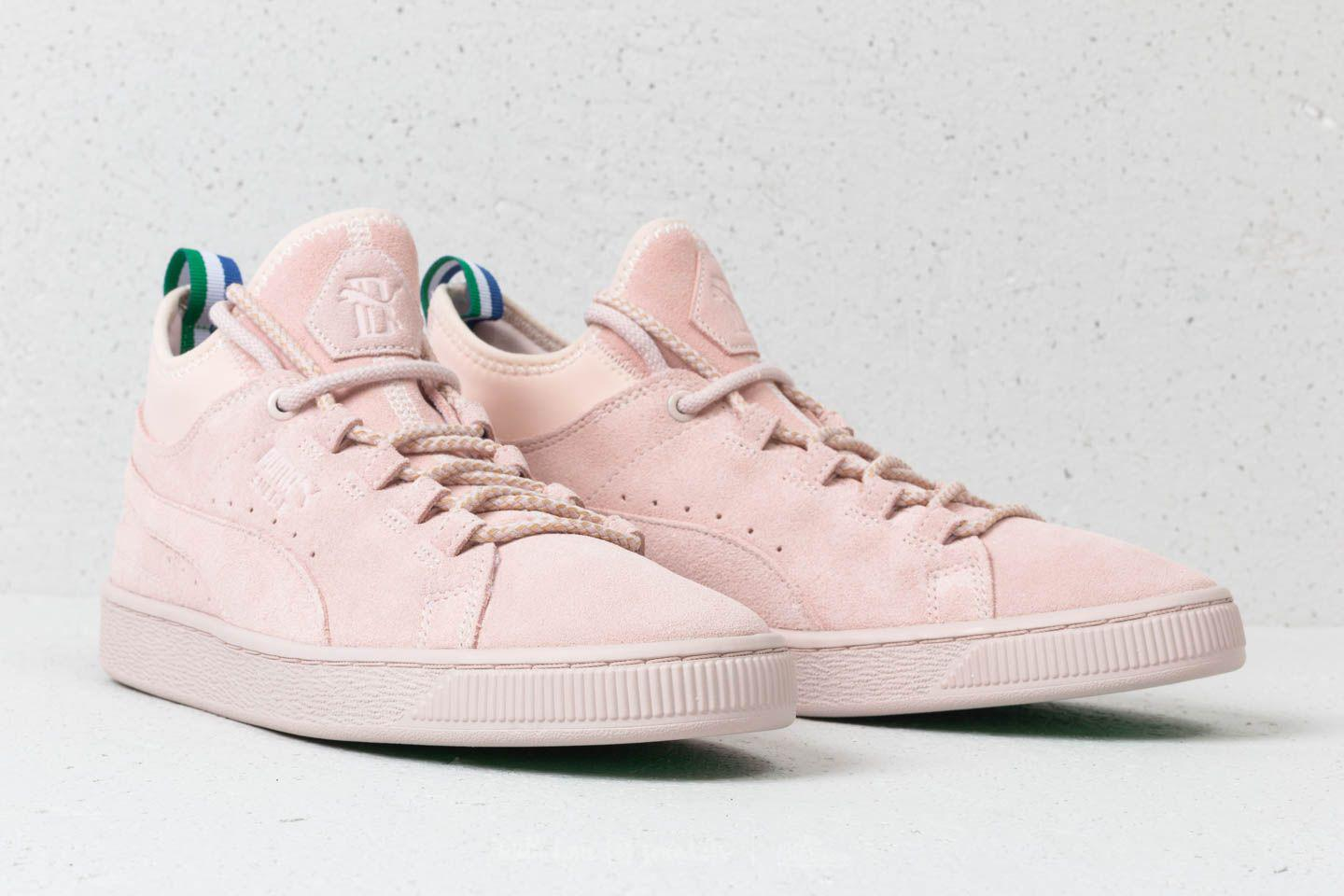 100% quality quarantee first look undefeated x X Big Sean Suede Mid Shell-shell