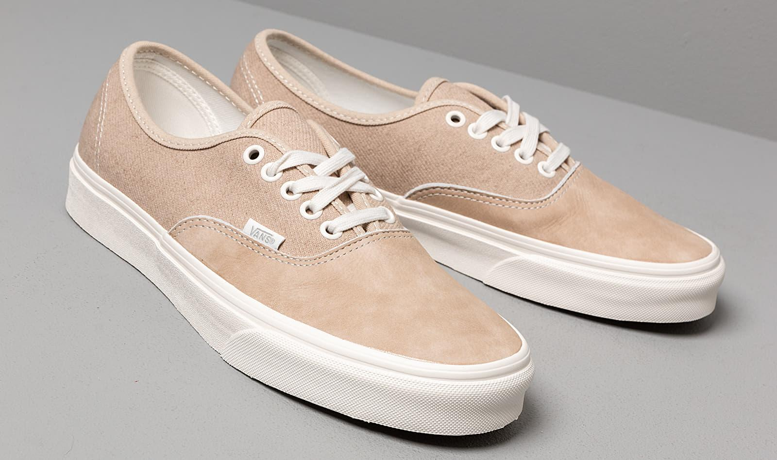 Vans Authentic (washed Nubuck/ Canvas) Brown - Lyst