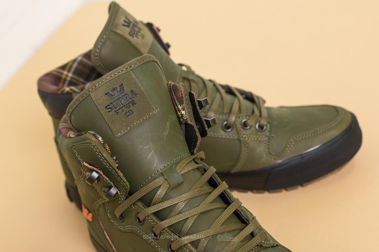 7418b34b210f Lyst - Supra Vaider Cw Olive-black in Green for Men