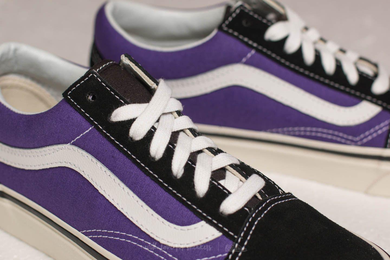 493c434ce7f8a8 Lyst - Vans Old Skool 36 Dx (anaheim Factory) Black  Bright Purple ...