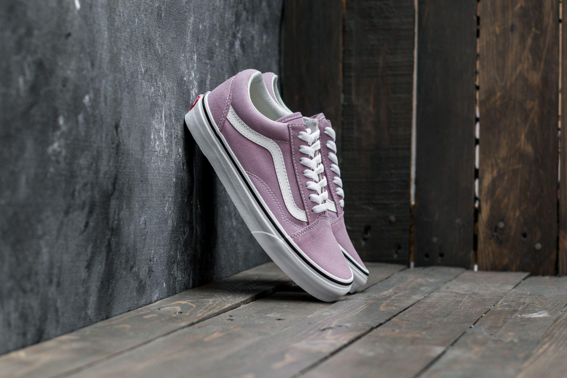 8eea1b2b16b6 Vans Old Skool Sea Fog  True White - Lyst