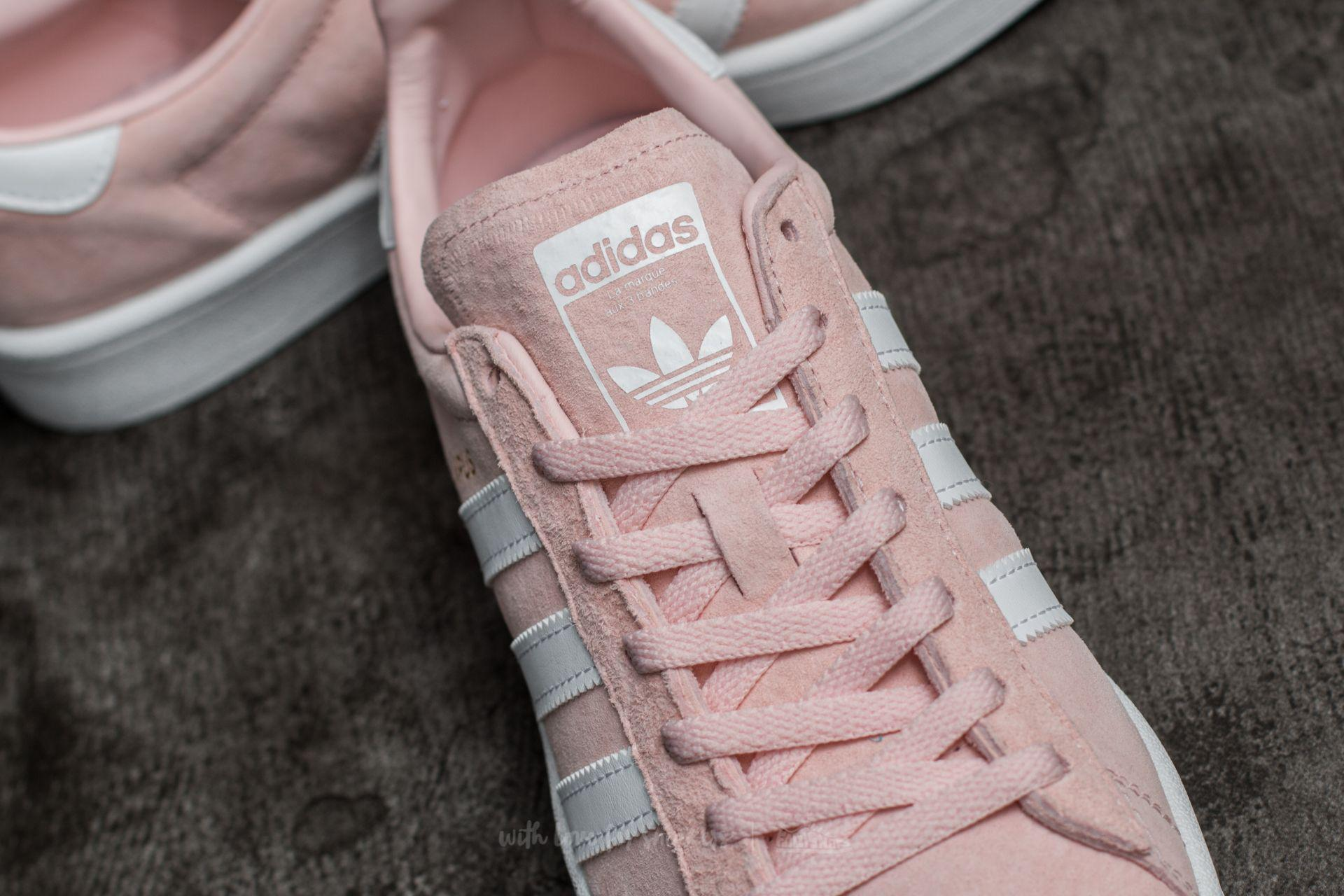 adidas Originals Leather Adidas Campus W Icey Pink Ftw