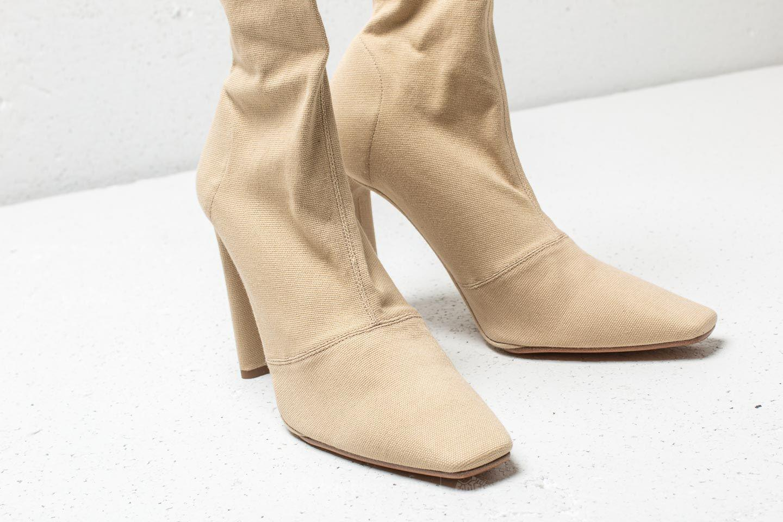 0398e6364b9 Lyst - Footshop Yeezy Season 7 Stretch Canvas Ankle Boot Military ...