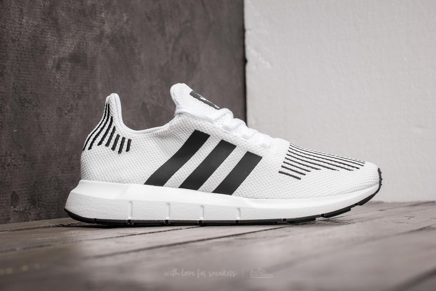 eb953b303 Lyst - adidas Originals Adidas Swift Run Ftw White  Core Black ...
