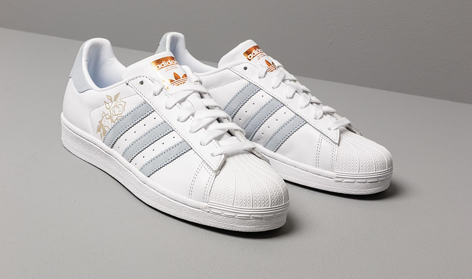 Adidas Superstar W Ftw White Periwinkle Copper Metalic
