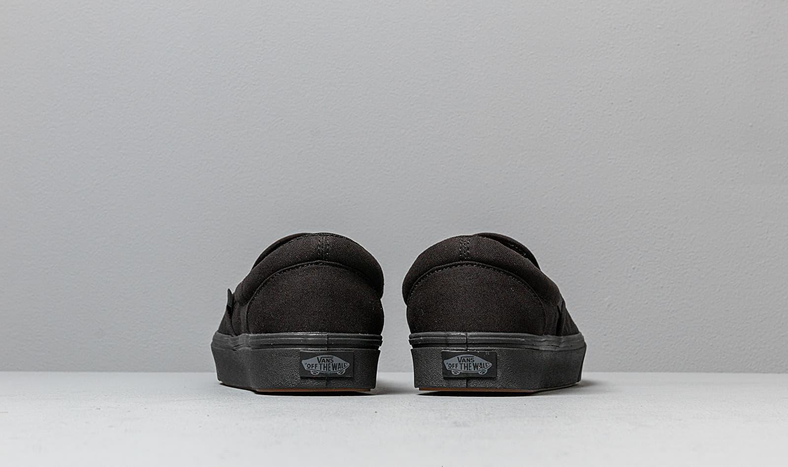 ComfyCush Slip-On (Classic) Black/ Black Vans