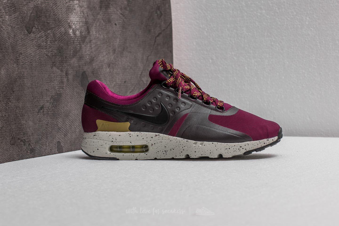 3144e508cff Lyst - Nike Air Max Zero Se Bordeaux  Black-velvet Brown for Men