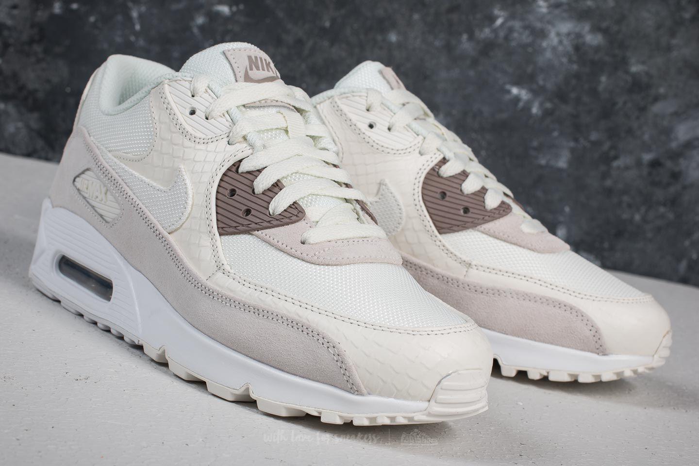 Mens SailSepia StoneWhite Nike Air Max 90 Premium 50% Off