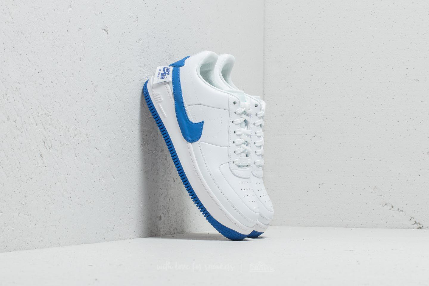 Lyst - Nike Air Force 1 Jester Xx Wmns White  Game Royal in White 9311d5152