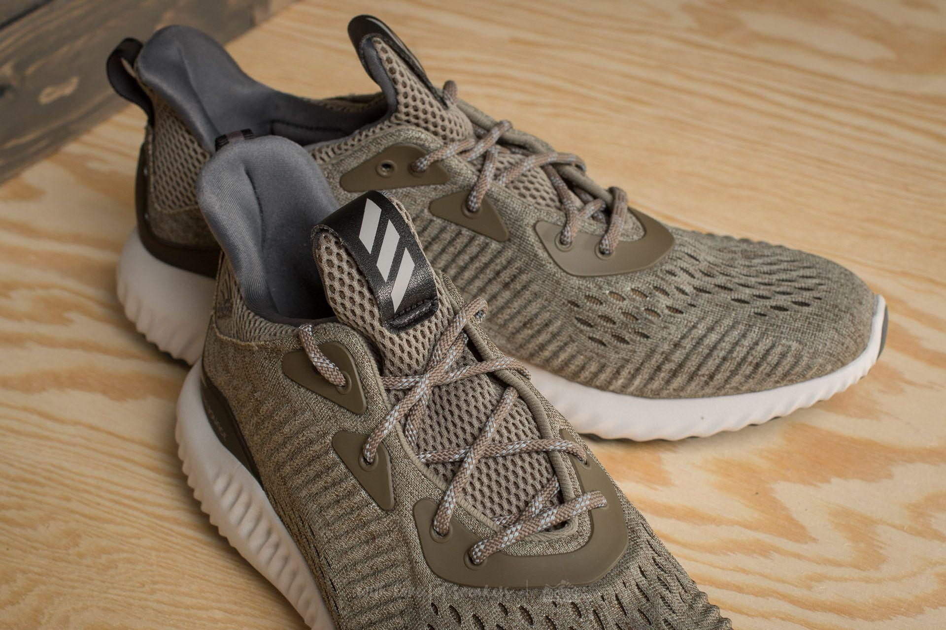 46882ee0c503a Lyst - Footshop Adidas Alphabounce Em M Trace Olive trace Cargo grey ...