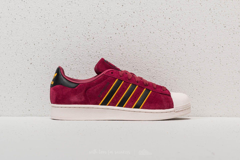 Lyst Adidas Originals Core Adidas Superstar Rojo/ Core Originals Negro/ Amarillo 4aee49