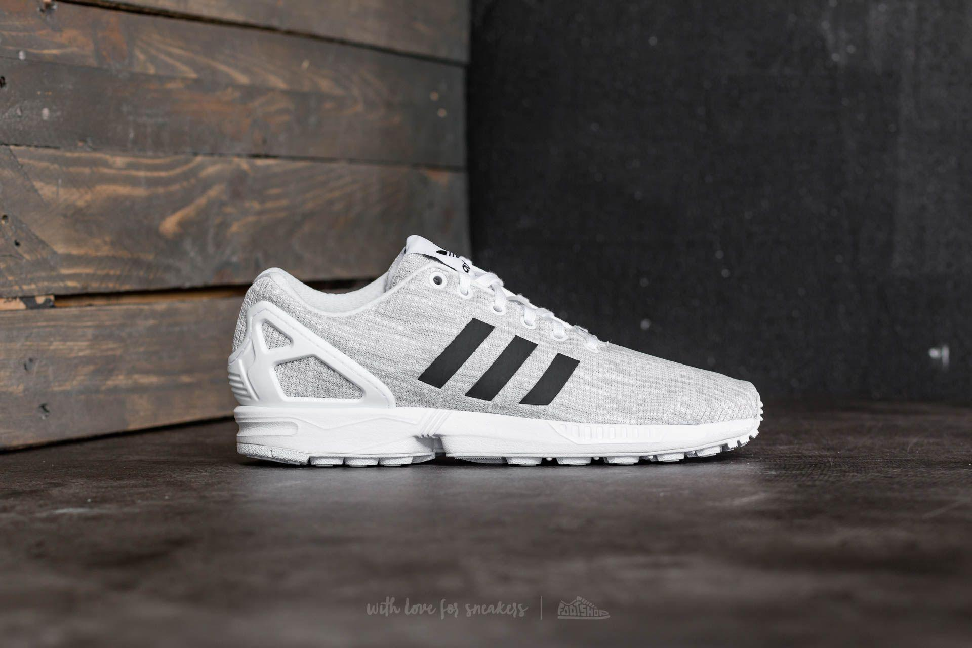 new style 86ab4 fddef Adidas Originals Gray Adidas Zx Flux Ftw White/ Core Black/ Grey One for men