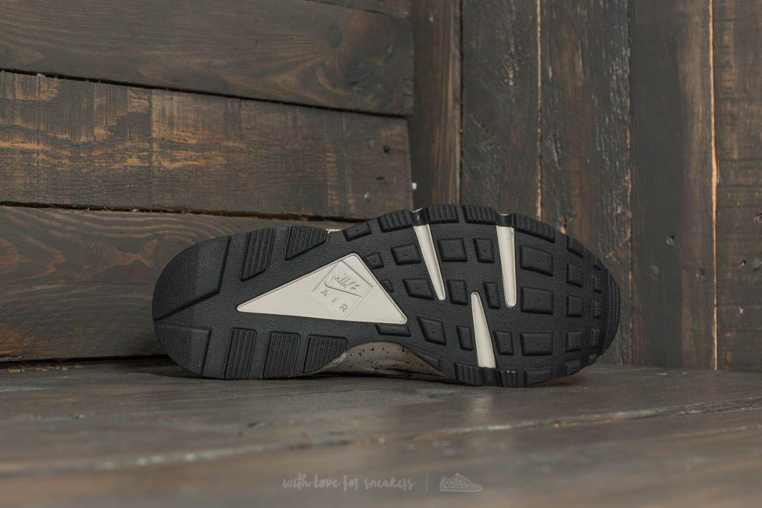 cb197b68668 Lyst - Nike Air Huarache Run Premium Black  Desert Moss-solar Red ...