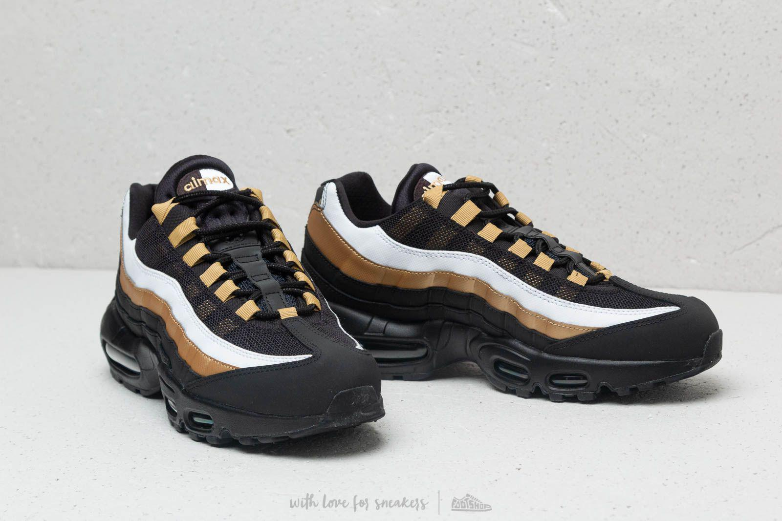 4ca07699d8 Nike Air Max 95 Og Black/ Black-metallic Gold in Black for Men - Lyst