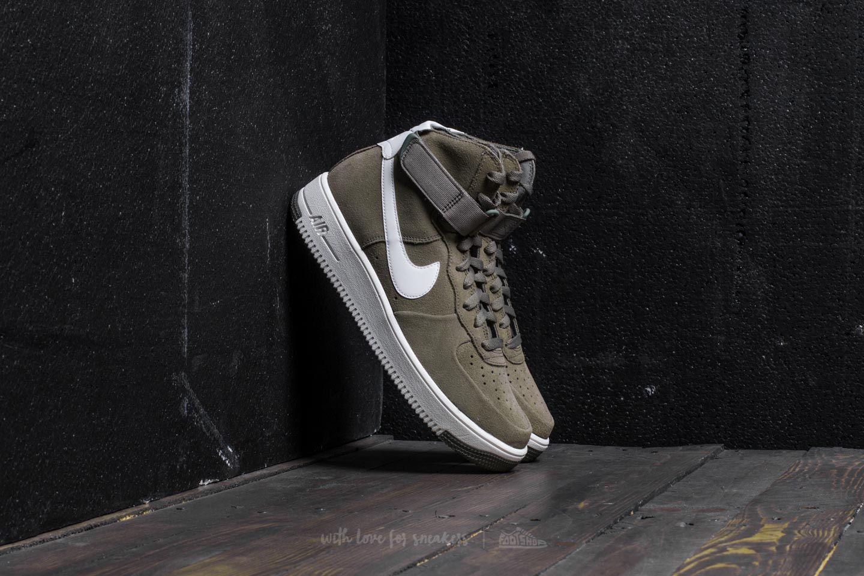 Nike. Men's Air Force 1 Ultraforce Hi Dark Stucco/ Summit White