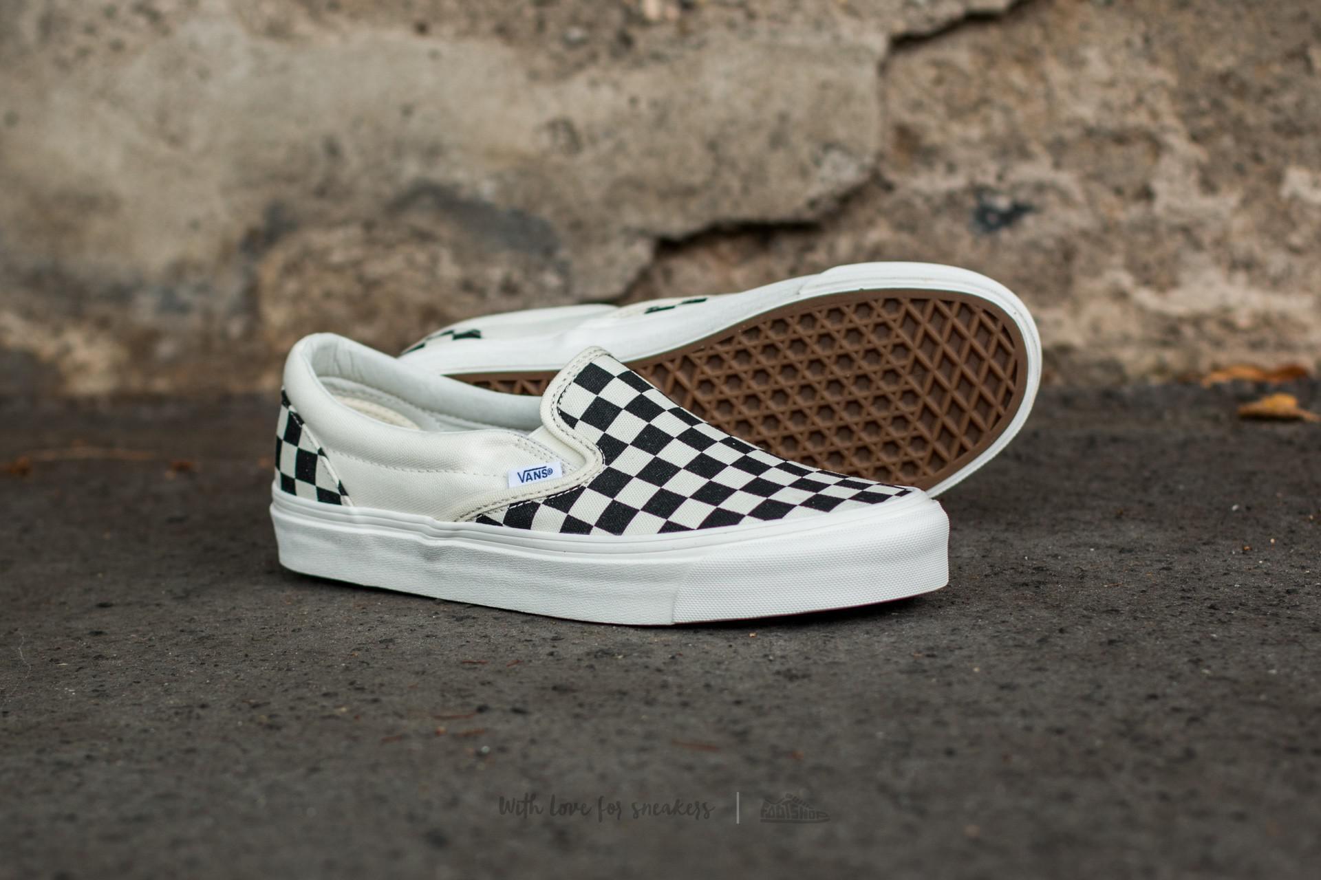 Vans - Multicolor Og Classic Slip On Lx (canvas) Black  White Checkerboard  for. View fullscreen d283f25df