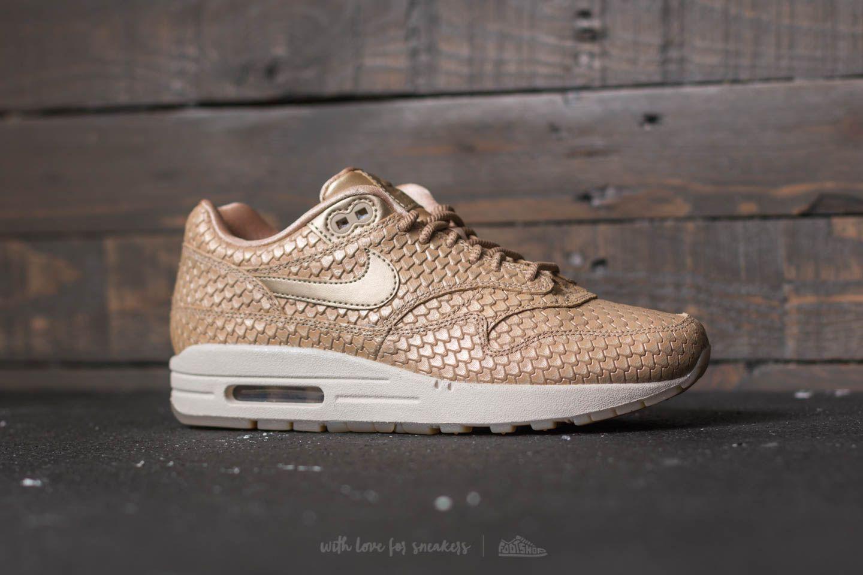 Nike Leather Wmns Air Max 1 Premium Blur/ Blur-light Orewood Brown ...