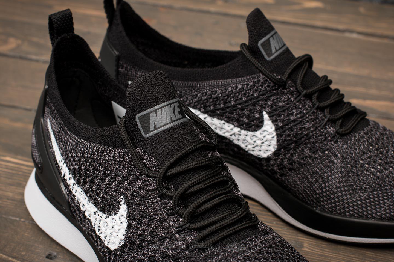 eff71ff352f Nike Gray W Air Zoom Mariah Flyknit Racer Black/ White-dark Grey