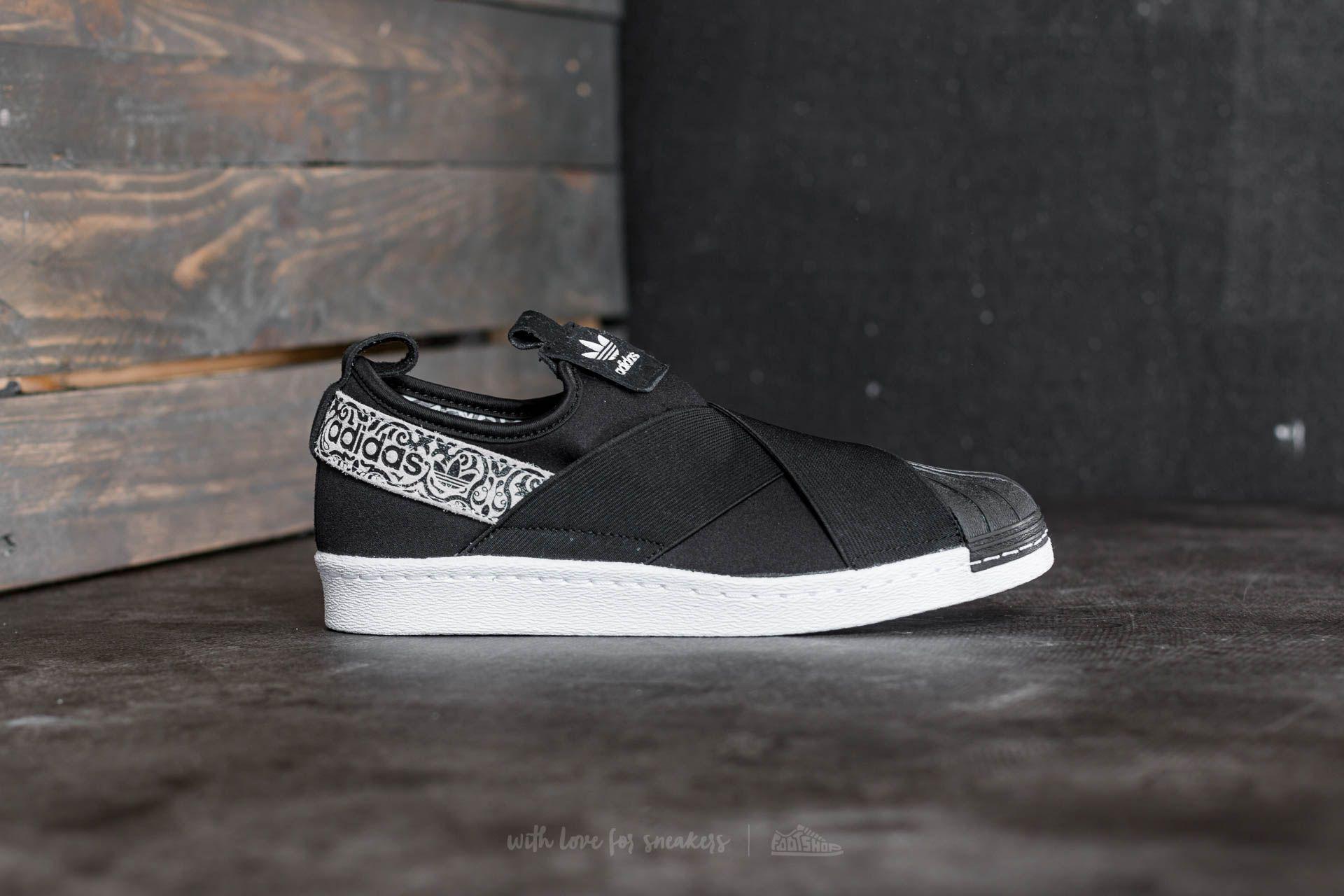 huge discount aecee da95a Lyst - adidas Originals Adidas Superstar Slip On W Core Black  Ftw ...