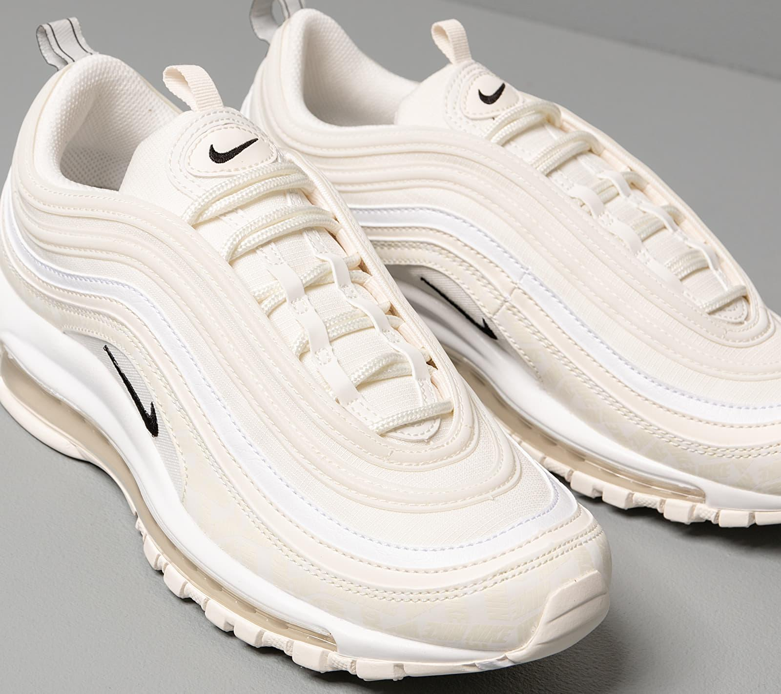 Nike Air Max 97 Sail/ Black-white in Brown for Men - Lyst