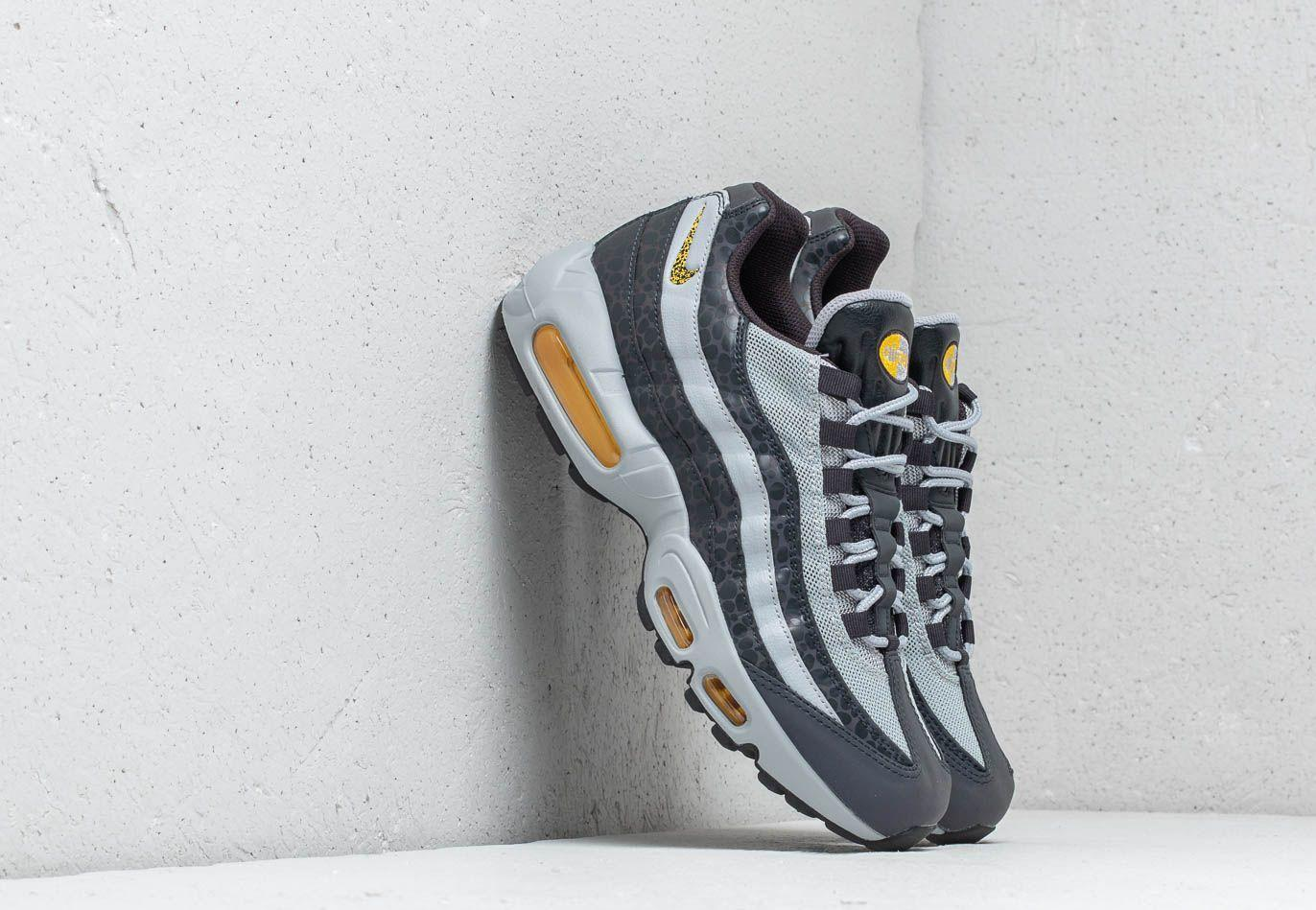 61a2b39d2e Nike - Gray Air Max 95 Se Reflective Off Noir/ Amarillo-wolf Grey for. View  fullscreen