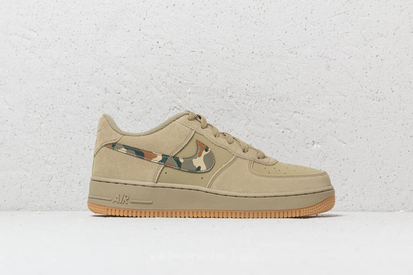 Air Force 1 (gs) Neutral Olive/ Black