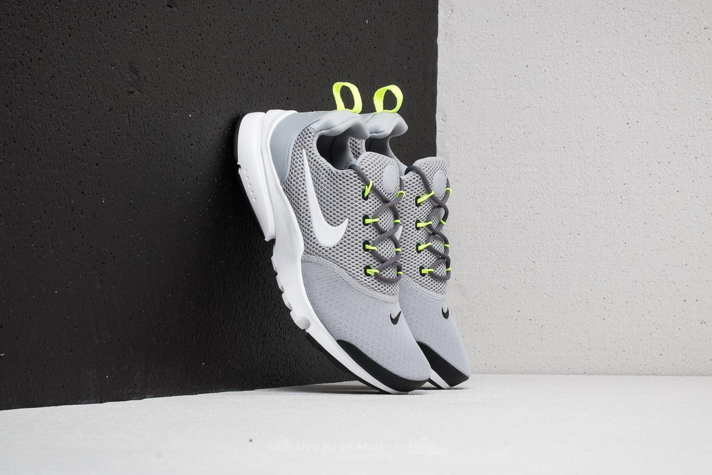 4369204f907f Lyst - Nike Presto Fly (gs) Wolf Grey  White-black-volt in Black for Men