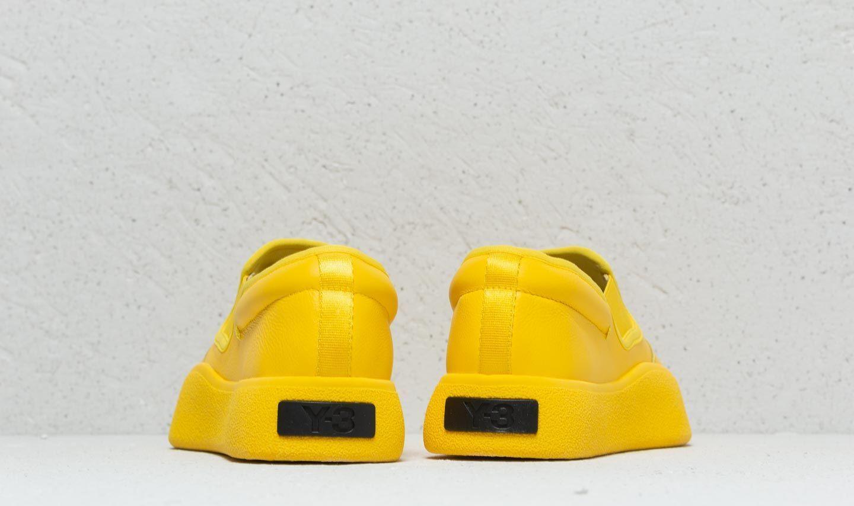 Y-3 Leather Tangutsu Yellow/ Yellow