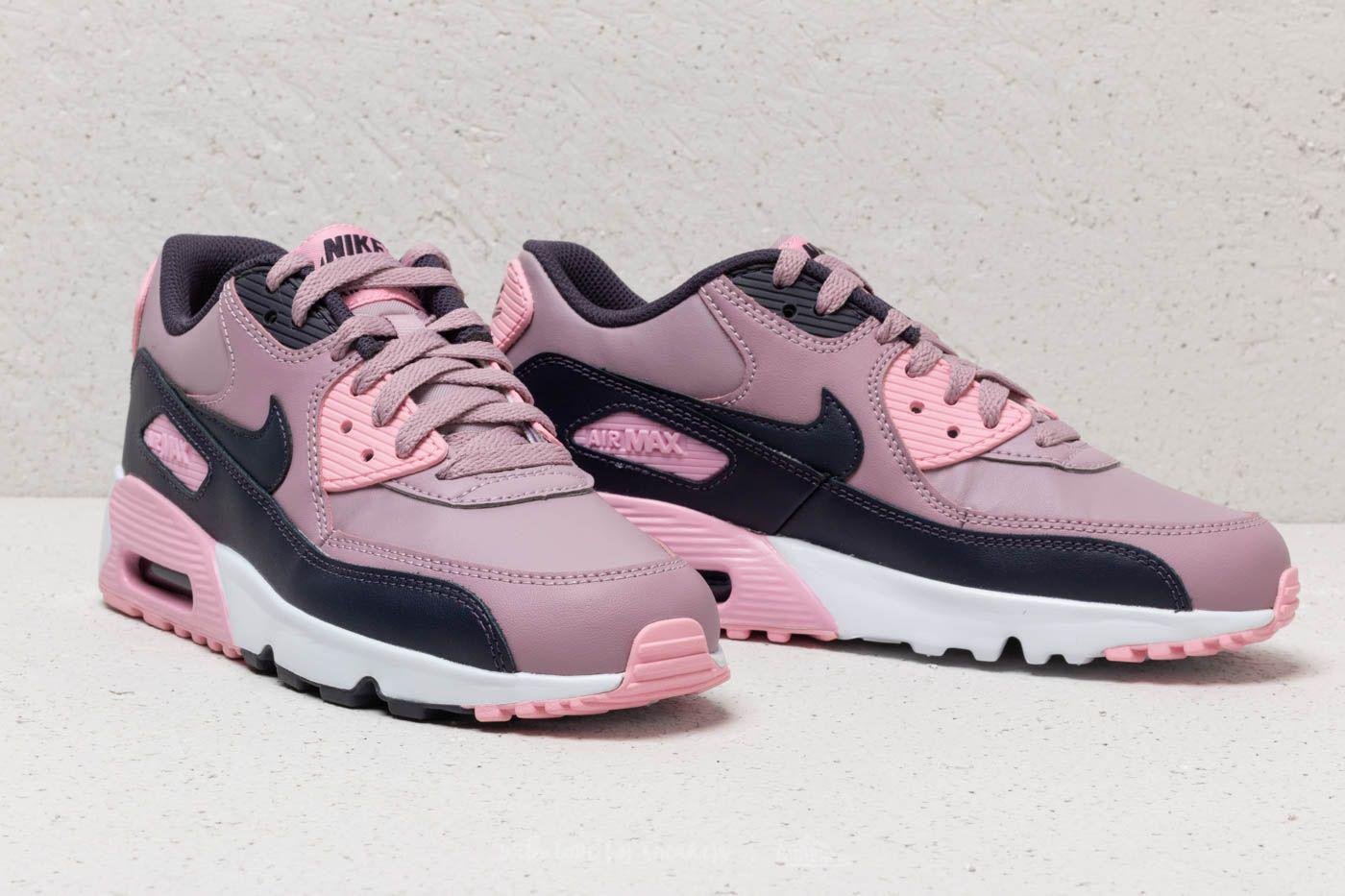 0f6c446da4 Nike Air Max 90 Leather (gs) Elemental Rose/ Gridiron-pink in Pink ...