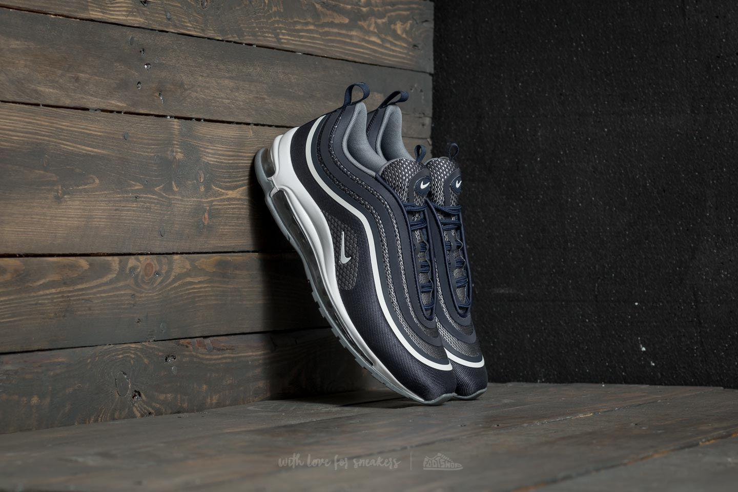 Nike Rubber Air Max 97 Ultra '17 Midnight Navy White cool