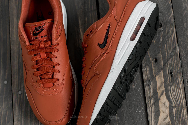 Nike Leather Air Max 1 Premium Sc Dusty Peach Black white