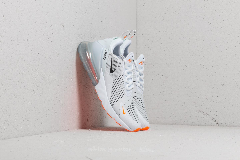 Lyst - Nike Air Max 270 White  Black-total Orange in White for Men 3ebeed742