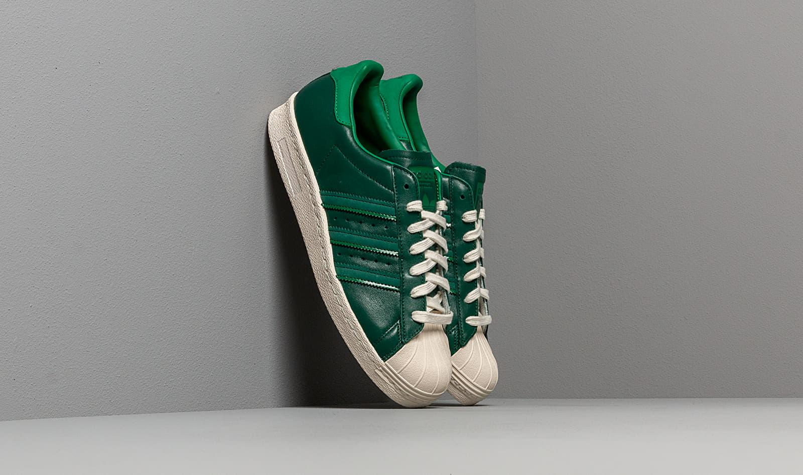 adidas Superstar 80s shoes white green red | WeAre Shop