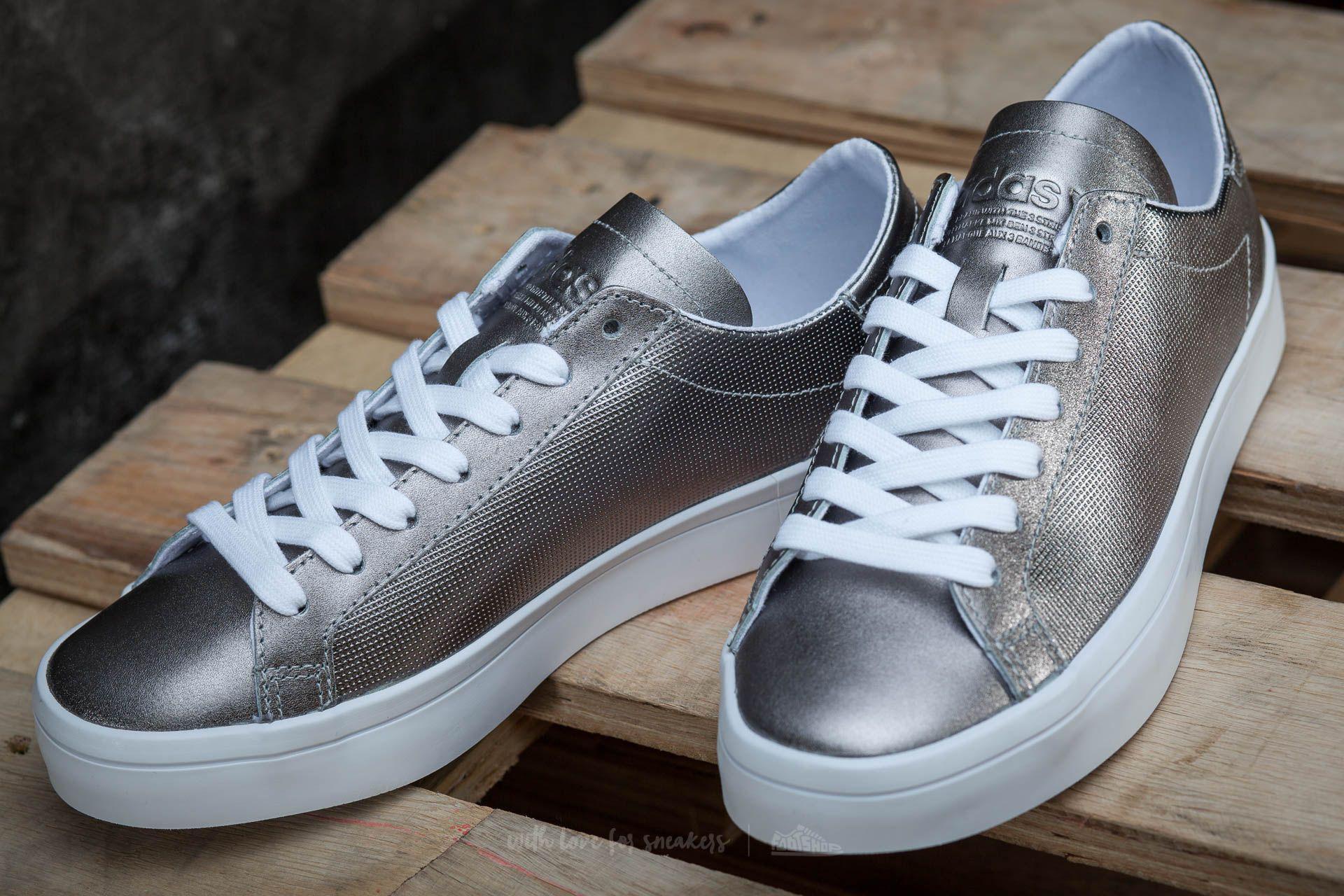 hot sale online 0770c b132a Lyst - adidas Originals Adidas Court Vantage W Night Metalli