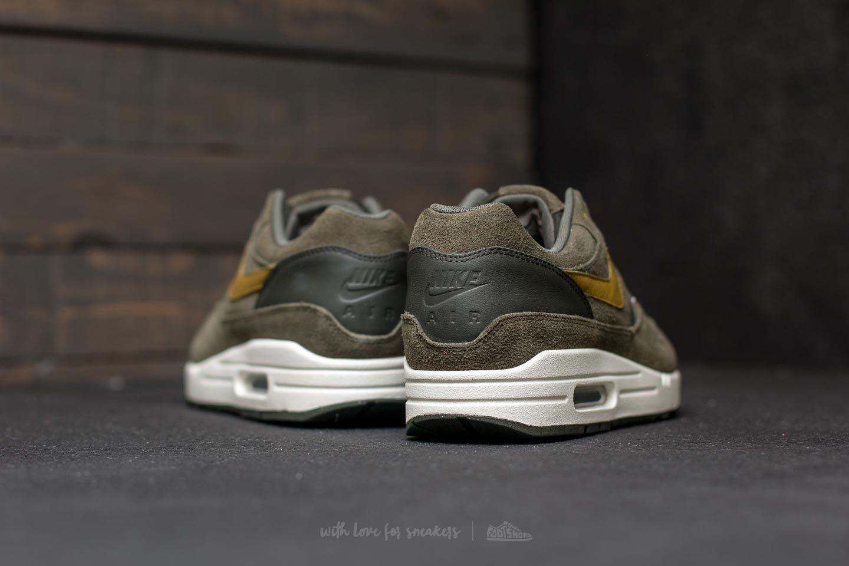 Nike Air Max 1 Premium Leather Sequoia/ Desert Moss for Men - Lyst