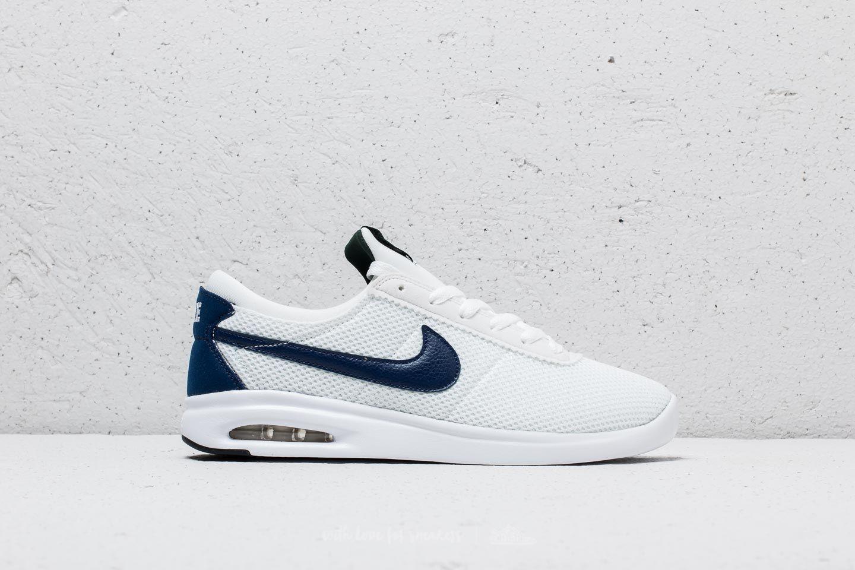 Nike Rubber Sb Air Max Bruin Vapor Txt White/ Blue Void-midnight ...