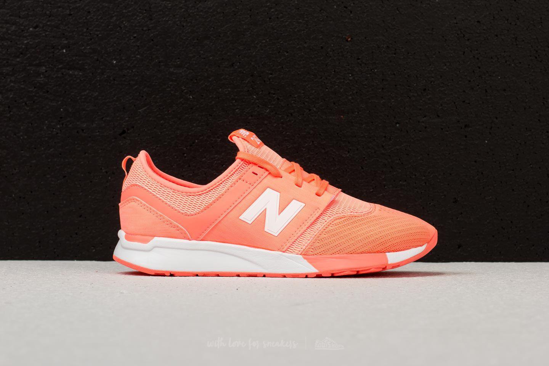 New Balance Rubber 247 Neon Orange - Lyst