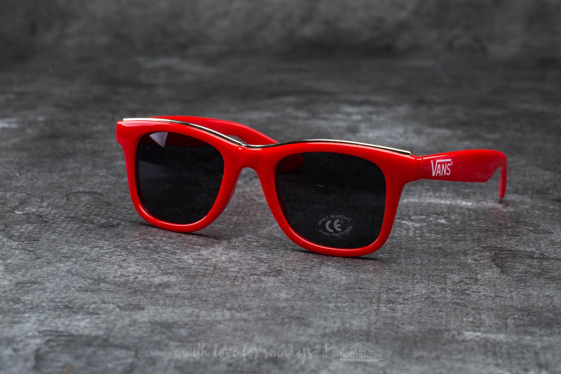 36ced2032725e2 Lyst - Vans Breakwater Sunglasses Tomato-gold Rim