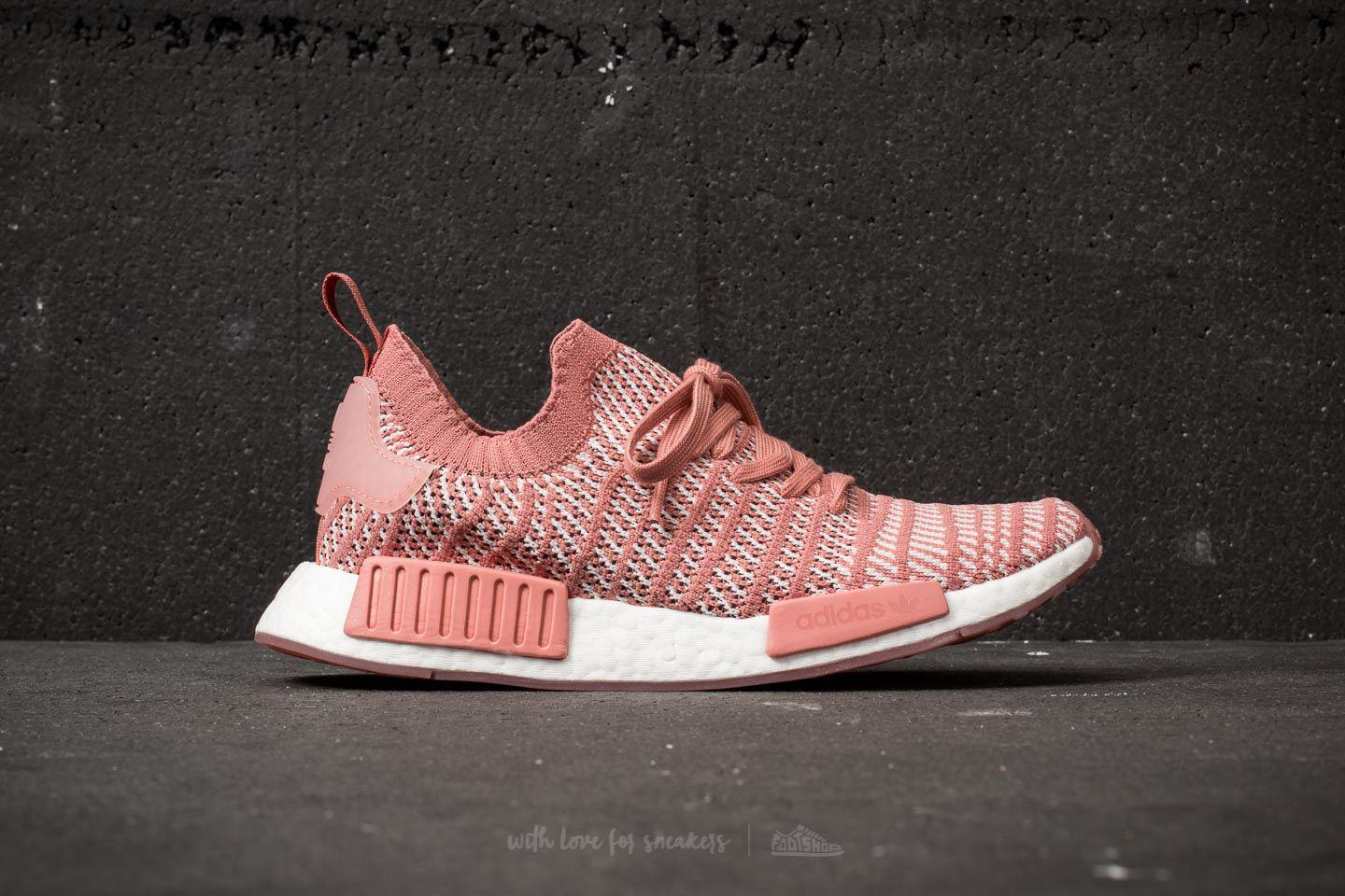 quality design 4124a 2d264 Women's Adidas Nmd_r1 Stlt Primeknit W Ash Pink/ Orchid Tint/ Ftw White
