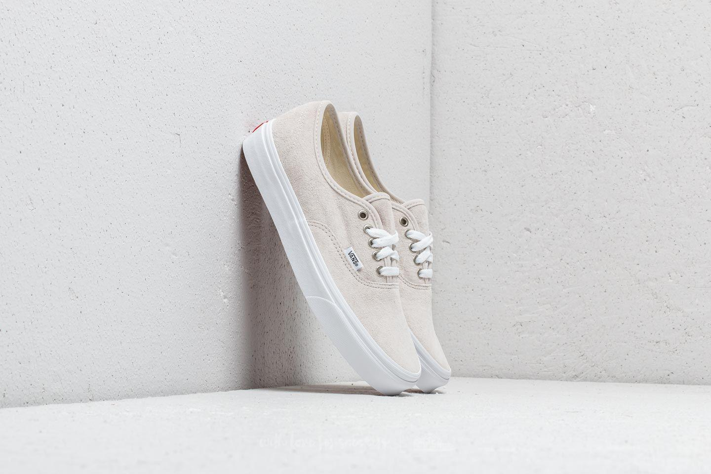922c4371edd Lyst - Vans Authentic (pig Suede) Moonbeam  True White in White
