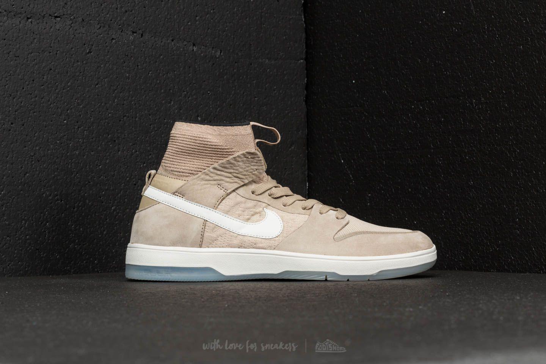cheap for discount 11277 a1d8d Nike Sb Zoom Dunk High Elite Khaki/ Light Bone/ Black for men