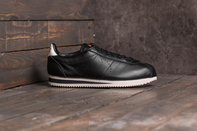 3c853f45ca0b Lyst - Nike Classic Cortez Leather Premium Black  Black-light ...