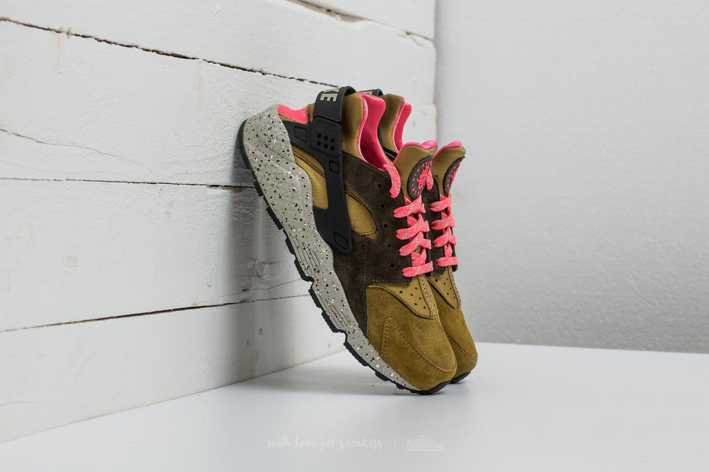 f2bf5e3483a Lyst - Nike Air Huarache Run Premium Desert Moss  Cobblestone for Men